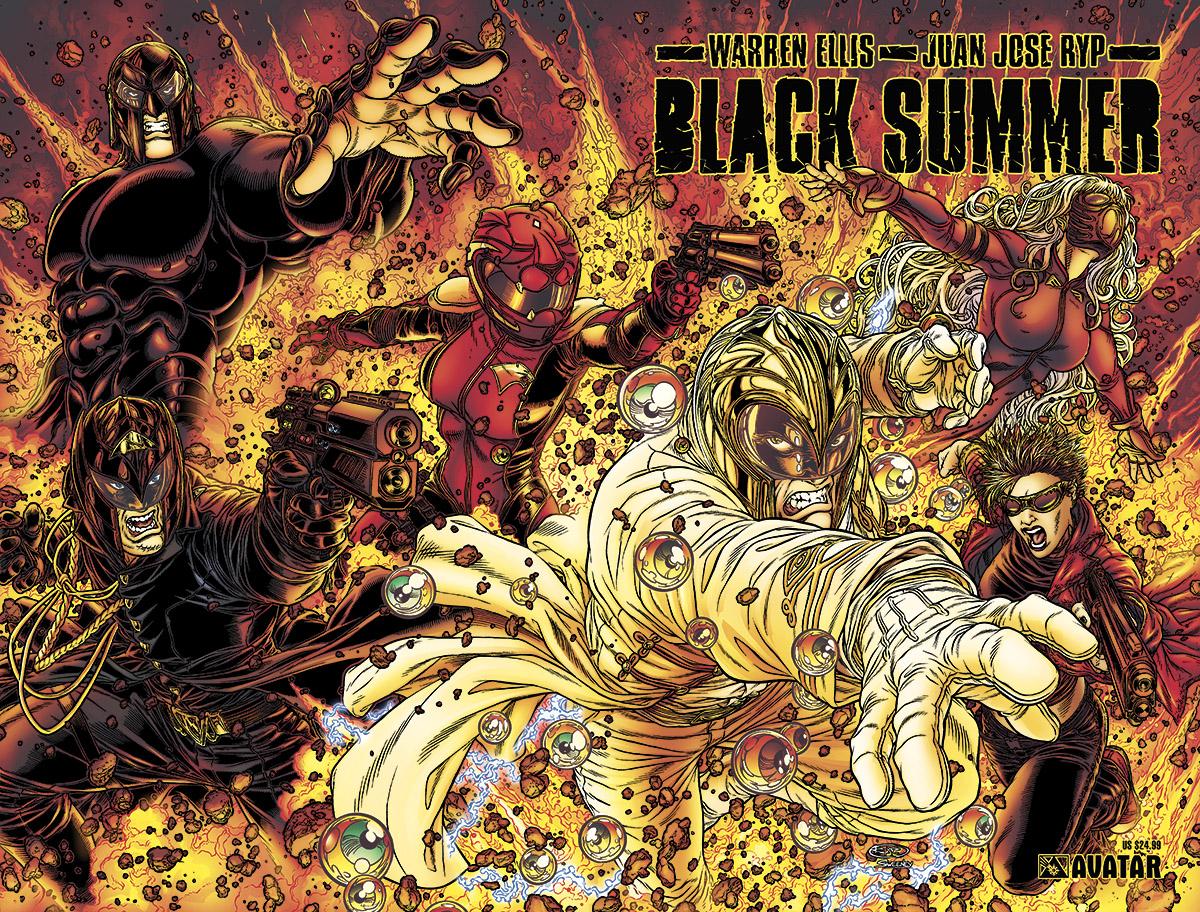 Black Summer par Warren Ellis et Juan Jose Ryp dans culte bksumtpb
