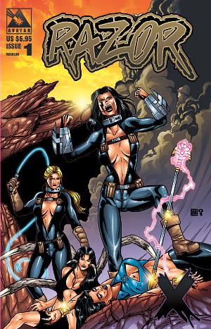 Razor X by Mike Wolfer -- Avatar Press