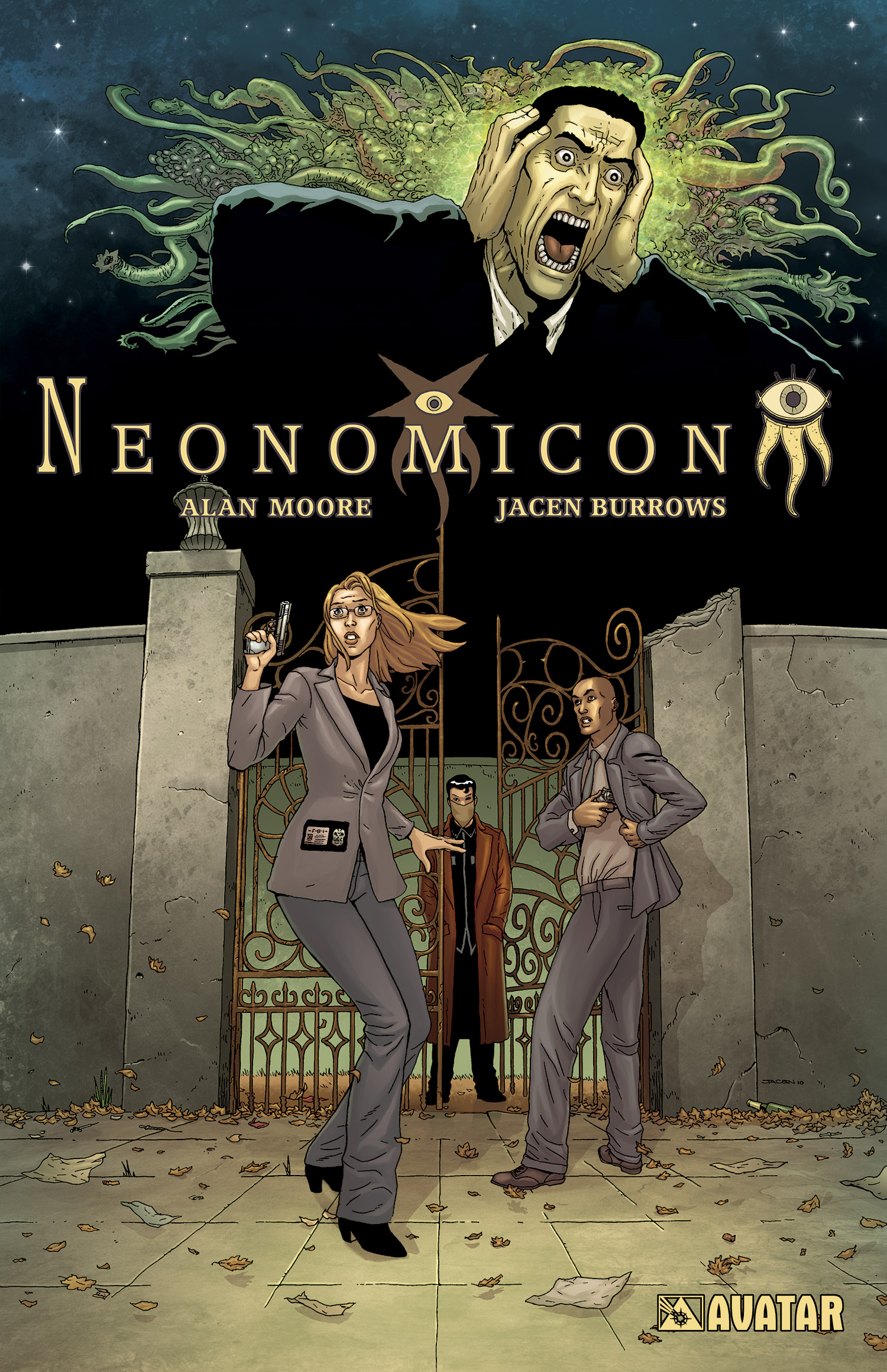 perfect halloween reading – alan moore's neonomicontpb | avatar press