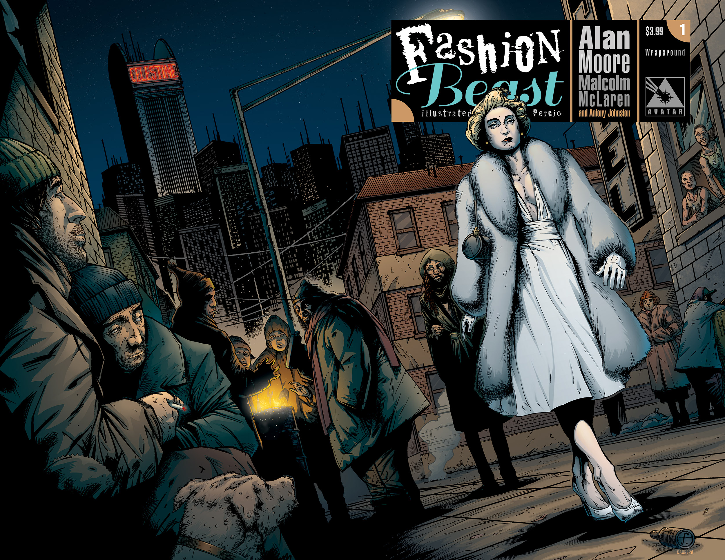 Long Lost Alan Moore Masterwork Fashion Beast Launches In