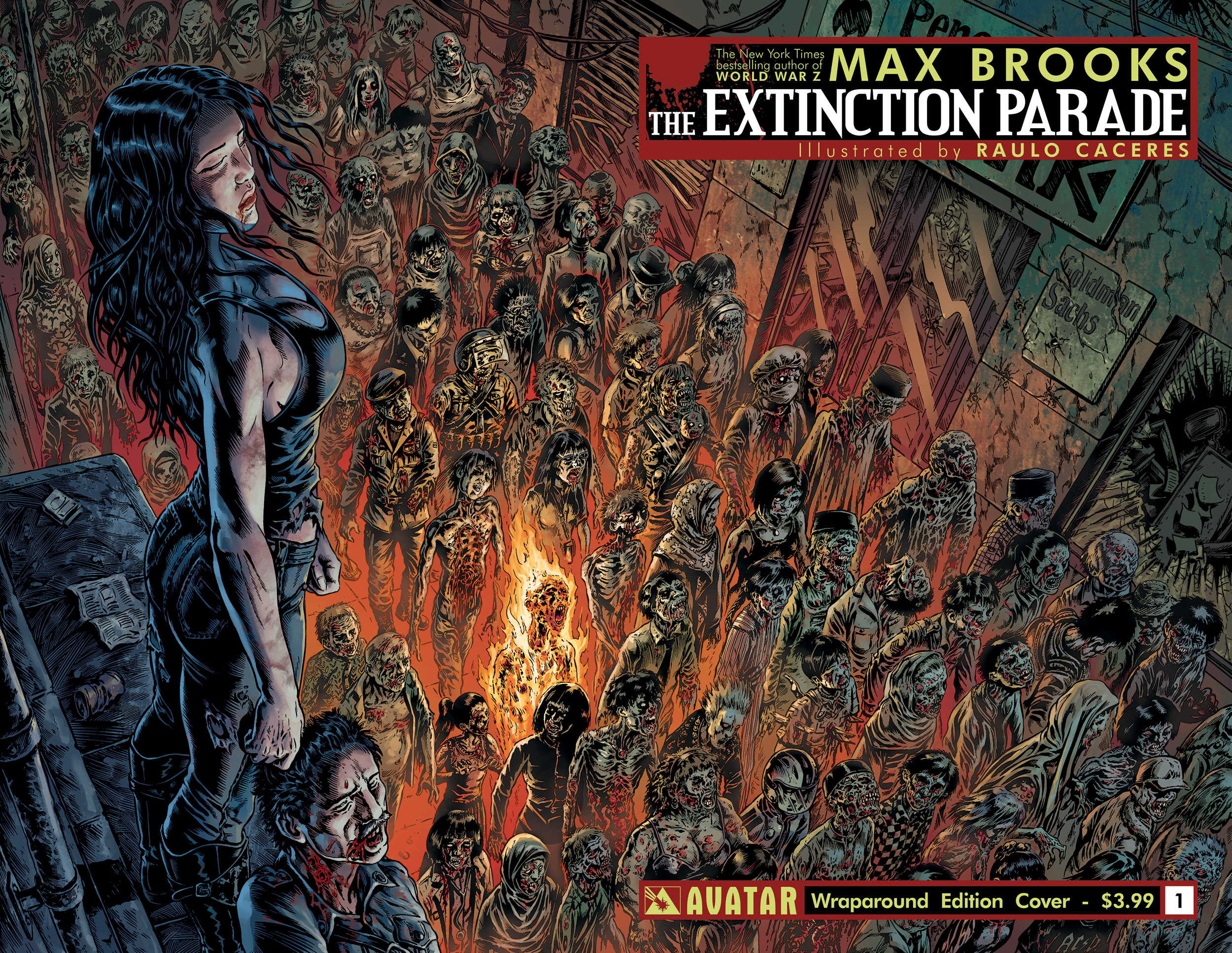 Extinction parade a new comic from world war z creator max brooks