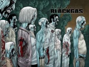 black gas wrap